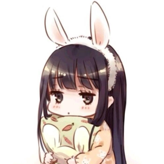 长角的小兔