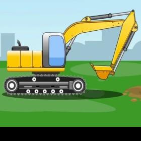 玩具挖掘机