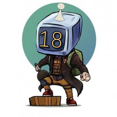 真电脑人18号